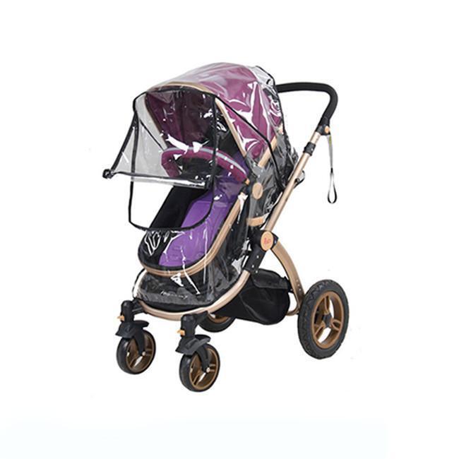 Hotsale Universal Buggy Pushchair Stroller Pram Transparent Rain Cover Baby LP