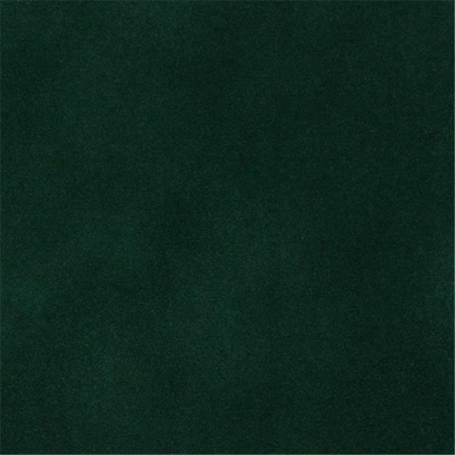 Designer Fabrics C860 54 in. Wide Green Solid Plain Velvet Automotive Residen...