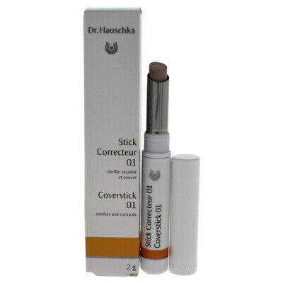 Coverstick - # 01 Natural by Dr. Hauschka for Women - 0.07 oz Concealer