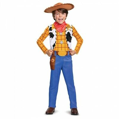 Sheriff Costume Kids (Disguise Disney Toy Story 4 Sheriff Woody Childrens Halloween Costume)