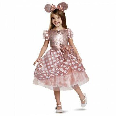 Disguise Disney Minnie Maus Rotgold Deluxe Kinder Halloween Kostüm - Rote Minnie Maus Kostüm