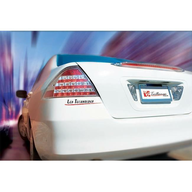 IPCW LEDT-715C Honda Accord 2006 - 2007 Tail Lamps LED Crystal Clear