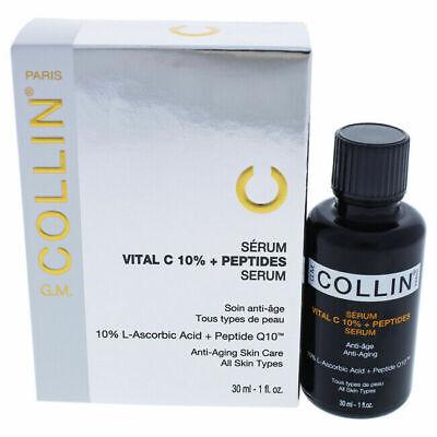 GM G.M. Collin VITAL C 10% + PEPTIDES SERUM 1 oz / 30 ML New in Box EXP 12/2021