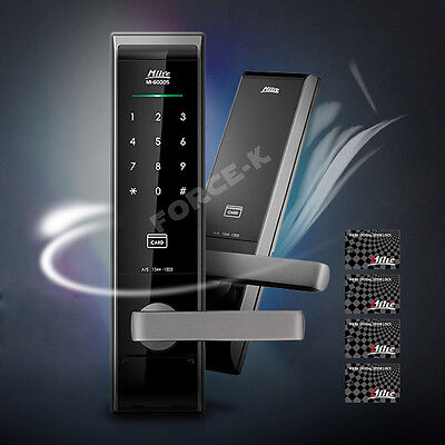 Milre MI-6000S Keyless Digital Door Lock Smart Electronic Security Entry 2Way