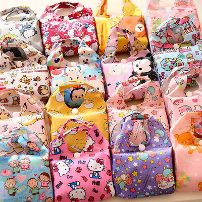 Cute Reusable Grocery Bags (Cartoon Eco Foldable Shopping Bag Reusable Grocery Recycle Cute Tote Bag)
