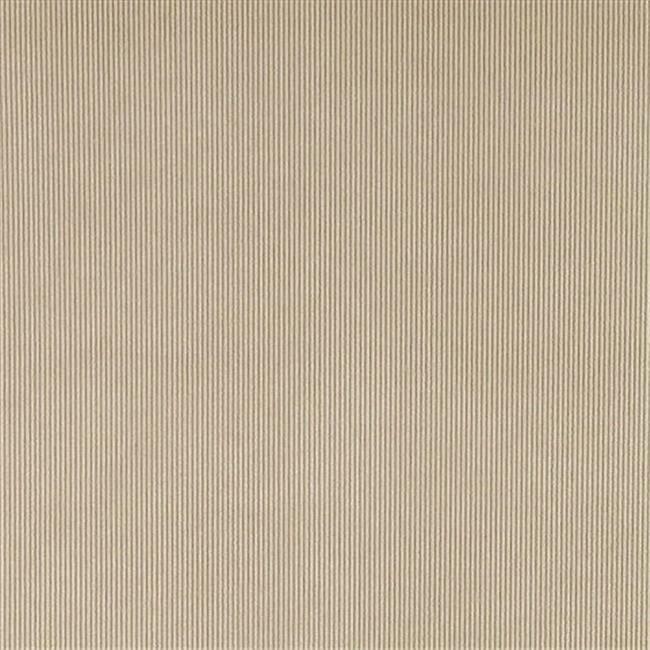 Designer Fabrics C183 54 in. Wide Beige Thin Solid Corduroy Striped Upholster...