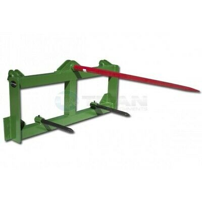 Titan Tractor Hay Spear Attachment Fits John Deere 3000 Lb Capacity Front Loader