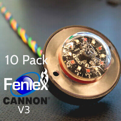 10 Pack New Feniex Cannon V3 Led Hide A Way All In One Lights