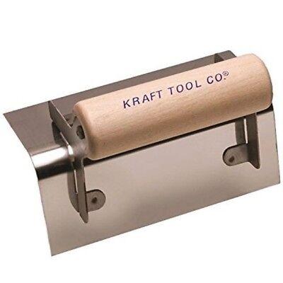 Kraft Tool Concrete Outside Step Corner Trowel Stainless Steel 14 Radius