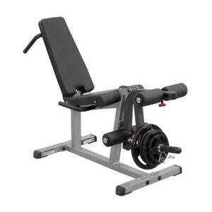 BODY SOLID Seated Leg Extension/Supine Leg Curl Bench