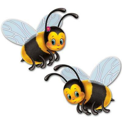 Bumblebee 17-Inch Cutouts (2 pack)](Bumble Bee Cut Outs)