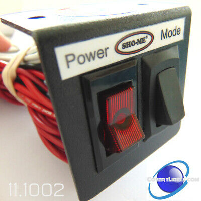 Sho-me Led Double Switch 11.1002 On-off And Mode