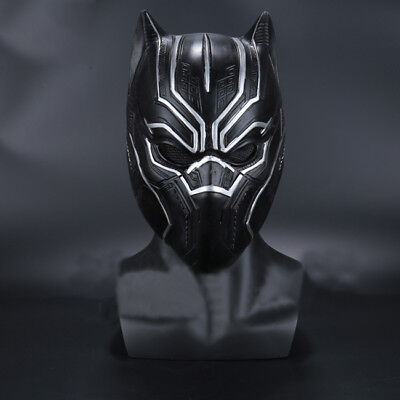 US! Movie The Avengers King of Wakanda (Black Panther)Cosplay Mask Props](Sinister Movie Mask)