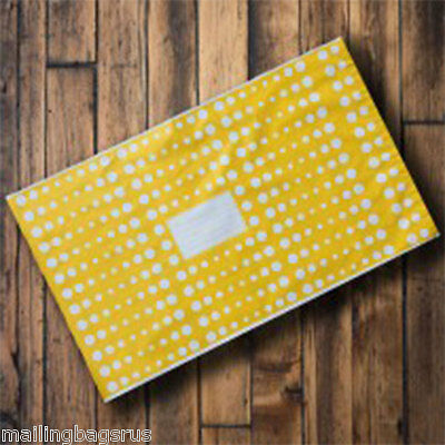 25 Yellow Polka Dots 10