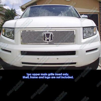 Fits 2005-2008 Honda Ridgeline Stainless Mesh Grille Insert