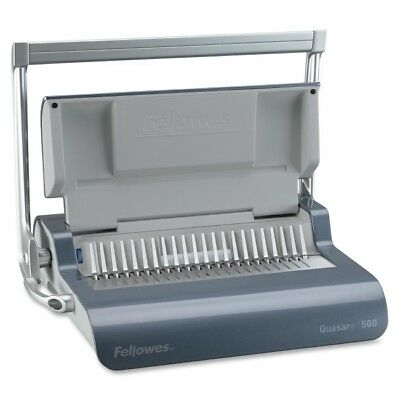 Fellowes Quasar Manual Comb Binding Machine - Manual - Combbind - 500 Sheets