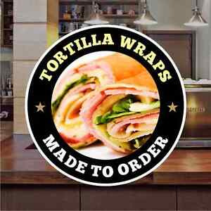 Tortilla-Wraps-Sandwich-Catering-Sign-Window-Restaurant-Stickers-Graphics-Decal