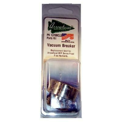 Arrowhead Brass & Plumbing PK1370 Vacuum Breaker Fine Thread Inlet Nickel Plated