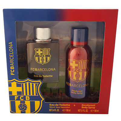 FC Barcelona by Air-Val International for Men - 2 Pc Gift Set