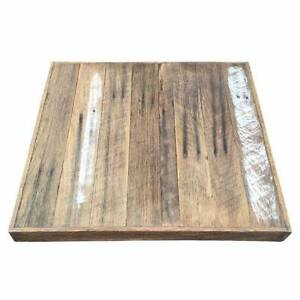 Recycled, Rustic Timber Table Tops Sydney Industrial Cafe Tables Auburn Auburn Area Preview