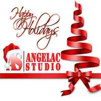 Holiday Makeup and Hair by ANGELAC Studio