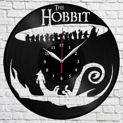 Hobbit Vinyl Record Wall Clock Fan Art Home Decor The Best Original Gift 3932