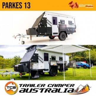 Ezytrail Parkes 13 Hybrid Pop Top Caravan 13ft Off-Road Trailer Fyshwick South Canberra Preview