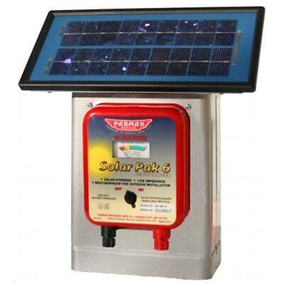 Parker Mccrory 6 Volt Solar Pak Fencer Df-sp-li