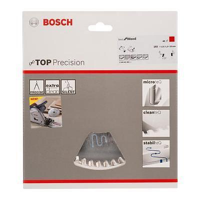 Bosch HM Sägeblatt best for Wood 165x20x1,8 mm, Z=48 WZ passend für GKT 55 CE