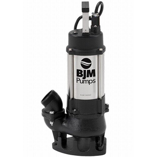 BJM Electric Vortex Submersible Industrial 2-inch Trash Pump BJM