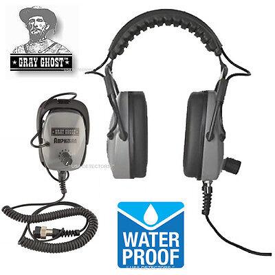 Grey Ghost Amphibian Headphones For Garrett At Max At Pro At Gold Infinium