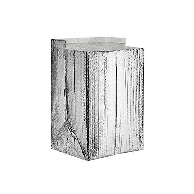 Insulated Box Liners 12x12x12 Silver 25case