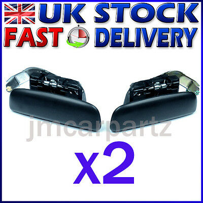 CITROEN SAXO PEUGEOT 106 2 MK2 4D 1996/2003 FRONT LEFT & RIGHT Door Handle x 2