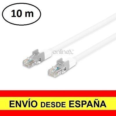 Cable de Conexión a Red Ethernet Lan RJ45 Router Internet Teléfono 10M...