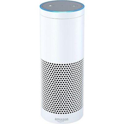 Amazon Echo White Bluetooth WiFi Home Hands Free Speaker Alexa Voice Control
