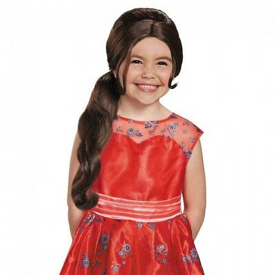Elena of Avalor Wig Disney Magical Costume Halloween Prop Gift Cosplay Hair](Brown Haired Girl Halloween Costume)