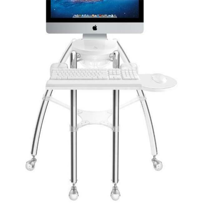Rain Design 12003 24-27 in. iGo Desk for iMac Sitting model Silver