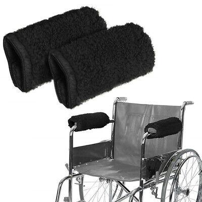 1 Pair Wheelchair Armrest Cover Chair Cushion Pad Non-slip Support