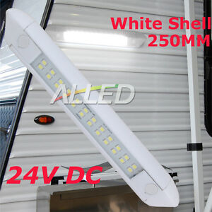 24V-Waterproof-LED-Awning-Light-Caravan-Motorhome-Camping-Strip-Lamp-Cool-White