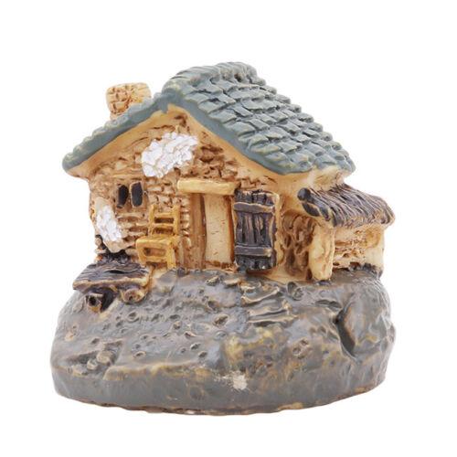 Resin Crafts Garden Miniature Dollhouse Christmas Micro Landscape Decors MA