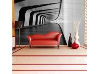 2 x 3d effect Wallpaper Mural sticker