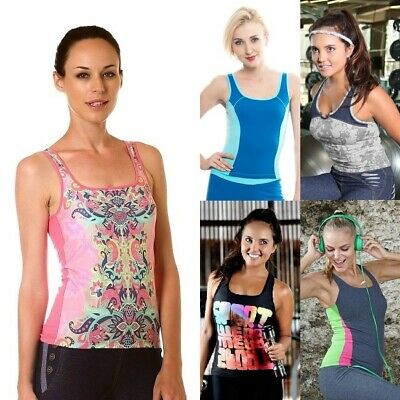 Women Gym Fitness Yoga Wear Ladies Sports Casual Top Exercise Pilates Clothes
