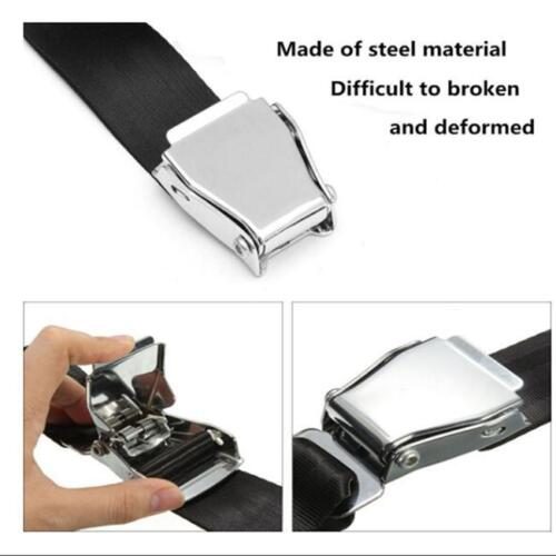 Details about Adjustable Airplane Seat Belt Extension Extender Airline Buckle Aircraft Safe 6A