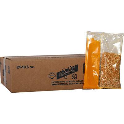 Snap-paks Portion Pack Popcorn Kit For 8 Oz. Poppers 24 - 10.6 Oz. Packs