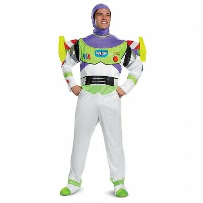 Disguise Disney Toy Story Buzz Lightyear Deluxe Erwachsene Halloween Kostüm