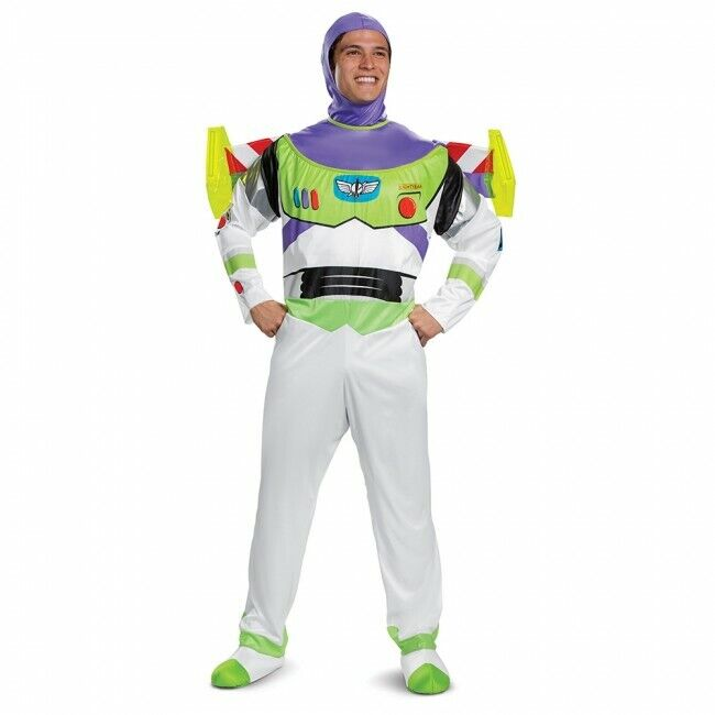 Disguise Disney Toy Story Buzz Lightyear Deluxe Adult Hallow