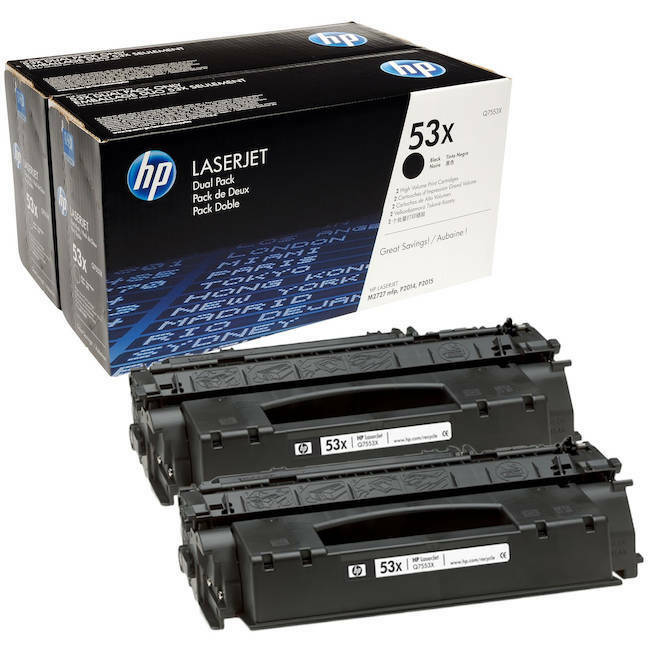 2 New Genuine SEALED BAG NO BOX HP 27X Laser Toner Cartridges C4127X