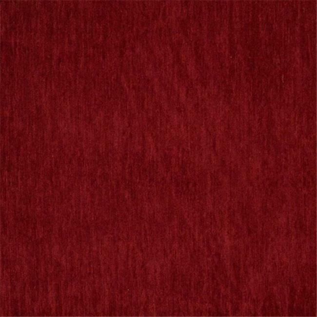 Designer Fabrics D788 54 in. Wide Dark Red Chenille Commercial Residential An...