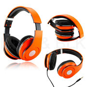 Orange Over Ear Headphones