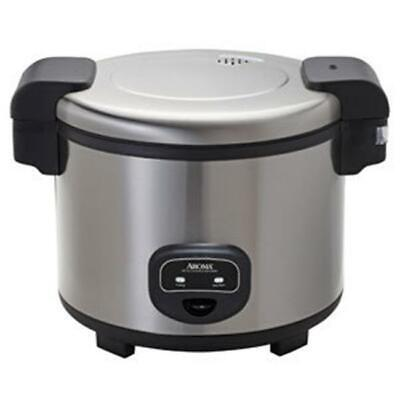 Aroma Stainless Steel Commercial Rice Cooker, 60-Cup, 1 ea